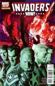 Invaders Now #1 Alex Ross Cover (2010) Marvel comic book